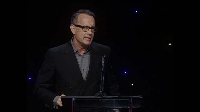 SPEECH Tom Hanks at 64th Annual ACE Eddie Awards in Los Angeles CA