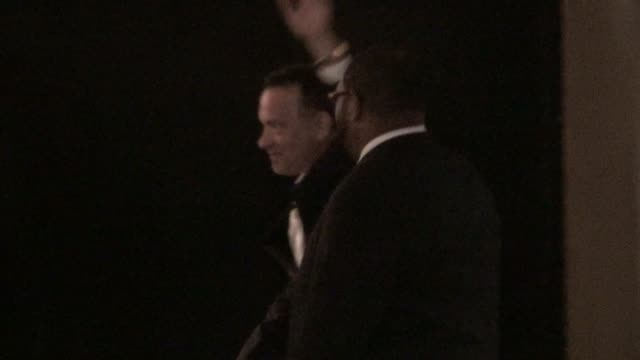 Tom Hanks at Stings 60th Birthday Concert at The Beacon Theater in New York 10/01/11