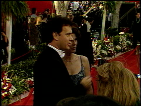 Tom Hanks at the 1992 Academy Awards at Dorothy Chandler Pavilion in Los Angeles California on March 30 1992