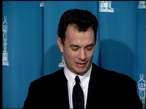 Tom Hanks at the 1994 Academy Awards Luncheon at the Beverly Hilton in Beverly Hills California on March 8 1994