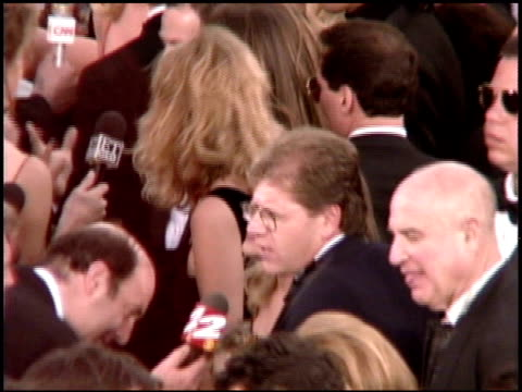 tom hanks at the 1995 academy awards arrivals at the shrine auditorium in los angeles, california on march 27, 1995. - shrine auditorium stock videos & royalty-free footage