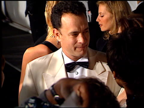 Tom Hanks at the 1997 Fire and Ice Ball on December 3 1997