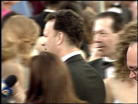 tom hanks at the 2001 academy awards at the shrine auditorium in los angeles california on march 25 2001 - 73rd annual academy awards stock videos & royalty-free footage