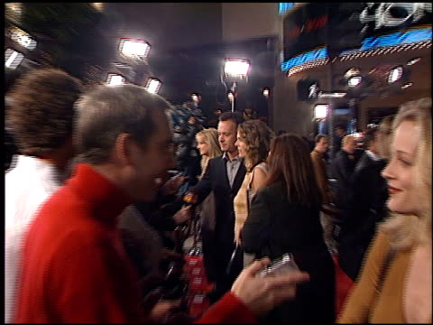 Tom Hanks at the 'Cast Away' Premiere at the Mann Village Theatre in Westwood California on December 7 2000