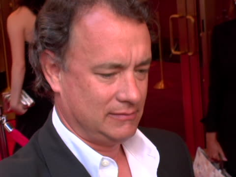 tom hanks at the martin short: fame becomes me broadway premiere at the bernard b. jacobs theatre in new york, new york. - martin short stock videos & royalty-free footage