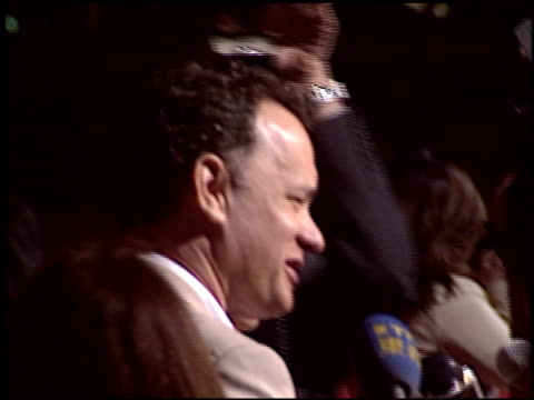 tom hanks at the premiere of 'the ladykillers' at the el capitan theatre in hollywood, california on march 12, 2004. - el capitan theatre stock videos & royalty-free footage