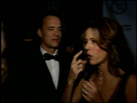 Tom Hanks at the St John's Caritas Gala at the Regent Beverly Wilshire Hotel in Beverly Hills California on October 15 2005