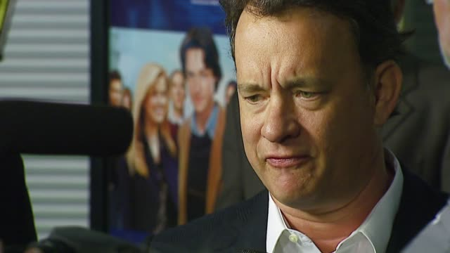 tom hanks at the 'starter for 10' los angeles premiere at arclight cinemas in hollywood california on february 6 2007 - arclight cinemas hollywood stock videos and b-roll footage
