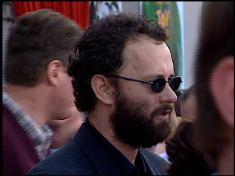 Tom Hanks at the 'Toy Story 2' Premiere at the El Capitan Theatre in Hollywood California on November 13 1999