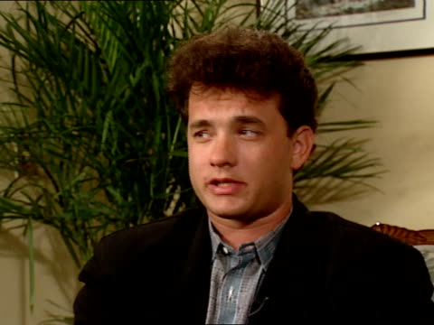 Tom Hanks gives an interview about his role in the movie Big