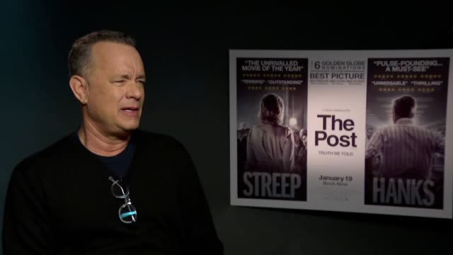 Tom Hanks is set to play Ben Bradlee in The Post starring alongside Meryl Streep He discusses the significance of a film about the US's first female...