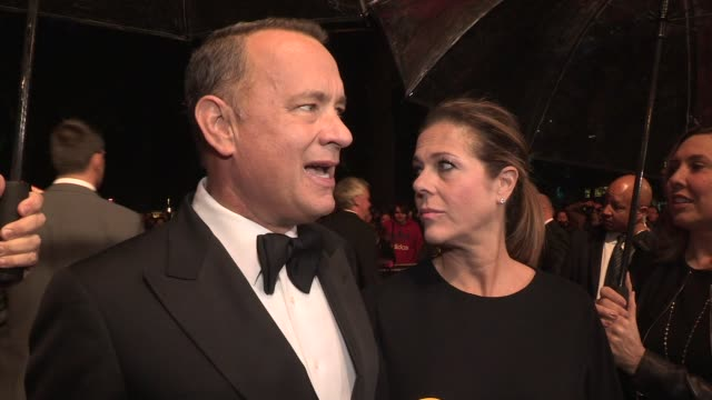 INTERVIEW Tom Hanks on his type 2 Diabetes at Opening Ceremony 'Captain Phillips' Red Carpet at Odeon Leicester Square on October 9 2013 in London...
