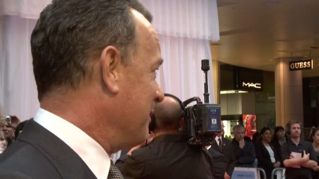 Tom Hanks on Julia Roberts his favorite role working as a Producer/Director/Actor at the Larry Crowne World Premiere at London London