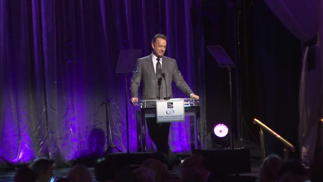 tom hanks presenting at the an unforgettable evening benefiting eif's women's cancer research fund at beverly hills ca. - tom hanks stock videos & royalty-free footage