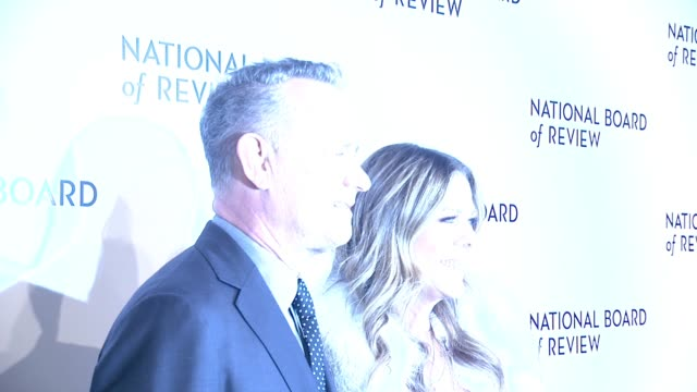 Tom Hanks Rita Wilson at 2018 National Board Of Review Awards Gala at Cipriani 42nd Street on January 9 2018 in New York City