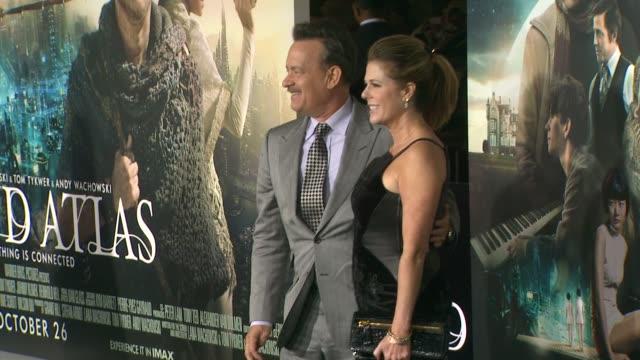 Tom Hanks Rita Wilson at Cloud Atlas Los Angeles Premiere on in Hollywood CA