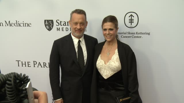 Tom Hanks Rita Wilson at Sean Parker And The Parker Foundation Celebrate The Launch Of The Parker Institute For Cancer Immunotherapy on April 13 2016...