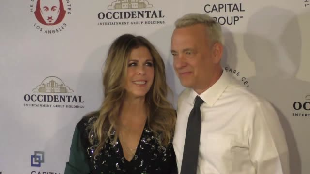 Tom Hanks Rita Wilson at the Shakespeare Center Of Los Angeles Presents 25th Annual Simply Shakespeare Benefit at The Broad Stage in Santa Monica in...
