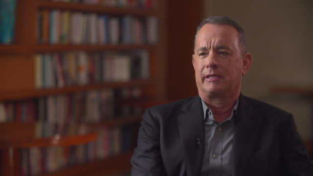 tom hanks saying harvey weinstein will not get a second chance in hollywood and that his name will become synonymous with a watershed moment in the... - media interview stock videos & royalty-free footage