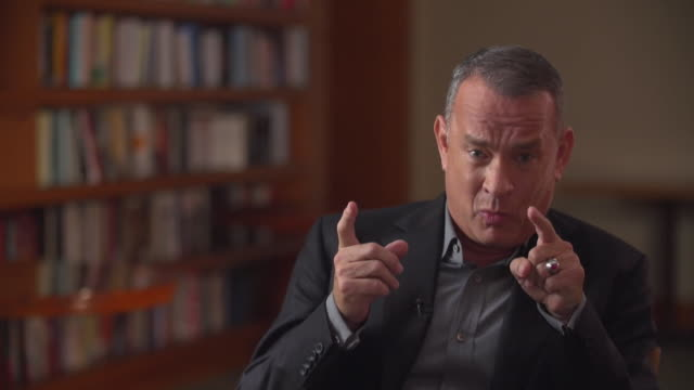 Tom Hanks saying that we need to see how vast the Harvey Weinstein case was and that it all has to change
