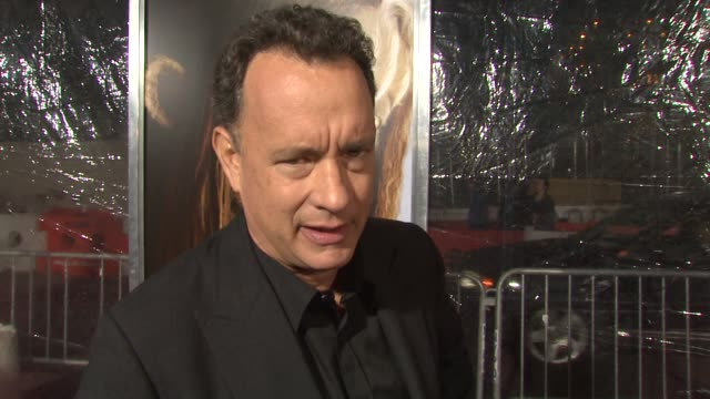 Tom Hanks talks about how the movie came together once Spike Jonze became a part of it at the 'Where the Wild Things Are' New York Premiere at New...