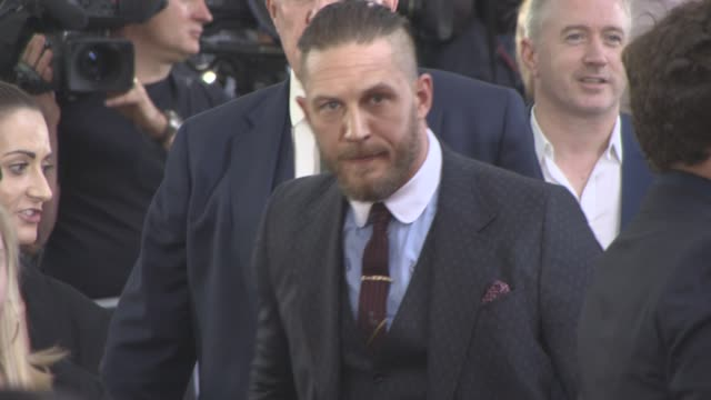 Tom Hardy at 'Dunkirk' World Premiere on July 13 2017 in London England