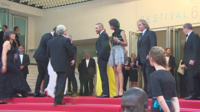 Tom Hardy Charlize Theron and Sean Penn at Mad Max Fury Road premiere on 14th May 2015 in Cannes France