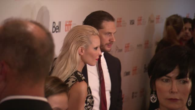 tom hardy noomi rapace michaël r roskam and matthias schoenaerts the drop premiere toronto international film festival 2014 at princess of wales... - toronto international film festival stock videos and b-roll footage