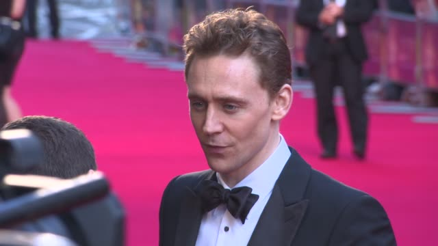 Tom Hiddleston at The Laurence Olivier Awards with MasterCard on April 13 2014 in London England