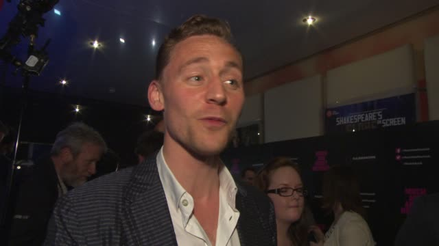 INTERVIEW Tom Hiddleston on working Alexis Denisof when Joss Whedon told him about the film the film going up against 'Man of Steel' at 'Much Ado...