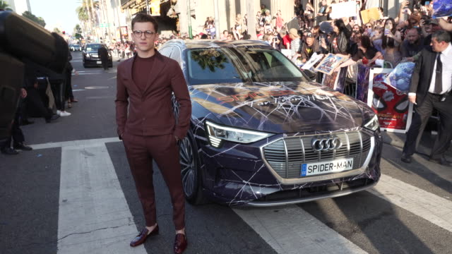 "CA: Audi At The World Premiere of ""Spider-Man: Far From Home"""