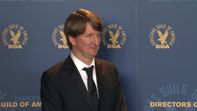 Tom Hooper at 64th Annual DGA Awards Press Room on 1/28/12 in Los Angeles CA
