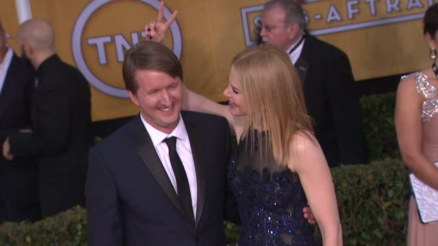 Tom Hooper Nicole Kidman at 19th Annual Screen Actors Guild Awards Arrivals 1/27/2013 in Los Angeles CA