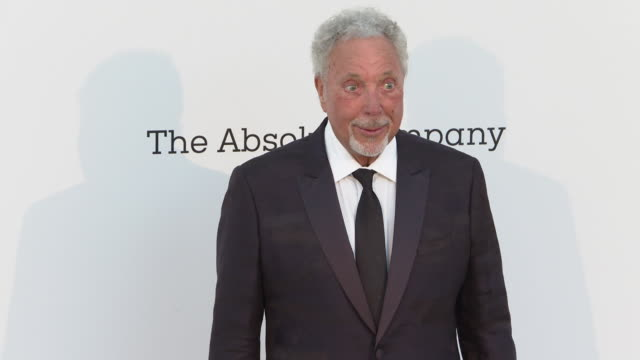 Tom Jones at the amfAR Cannes Gala 2019 Arrivals at Hotel du CapEdenRoc on May 23 2019 in Cap d'Antibes France