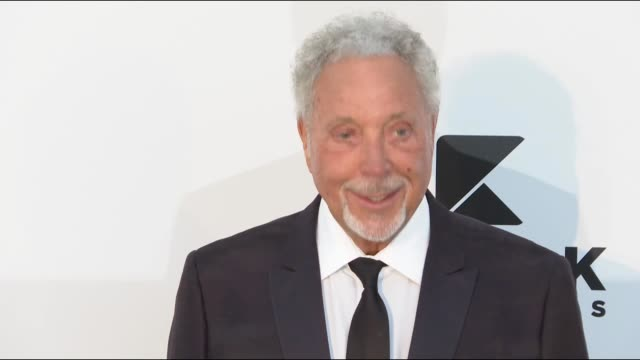 Tom Jones at the amfAR Cannes Gala 2019 during The 72nd Cannes Film Festival on May 14 2019 in Cannes France