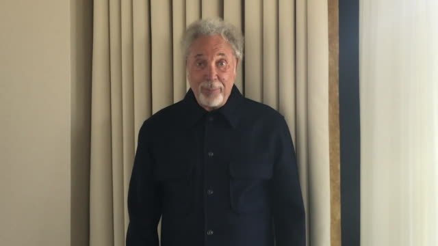 tom jones congratulating captain tom moore for breaking his record of being the oldest man to have a uk number one single - domestic garden stock videos & royalty-free footage