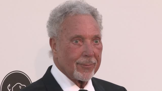Tom Jones on the red carpet for the 2019 Cannes amfAR Gala at Hotel du Cap Eden Roc in Antibes Cannes France on Thursday May 23 2019