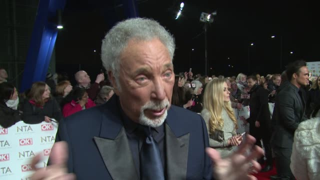 Tom Jones Piers Morgan Honey G Mark Wright Michelle Keegan Jorgie Porter Carol Vorderman Amanda Mealing Kate Garraway James Arthur at The O2 Arena on...