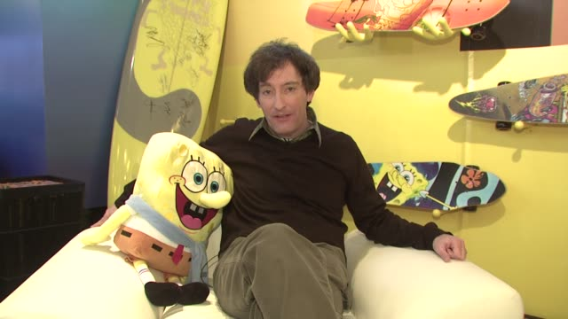 Tom Kenney discusses the characters that he plays on Spongebob Squarepants at the 2009 Sundance Film Festival Nickelodeon at Village at the Yard at...