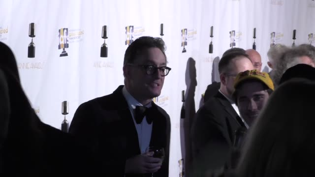 Tom Kenny at the Annie Awards at UCLA's Royce Hall in Westwood at Celebrity Sightings in Los Angeles on February 06 2016 in Los Angeles California