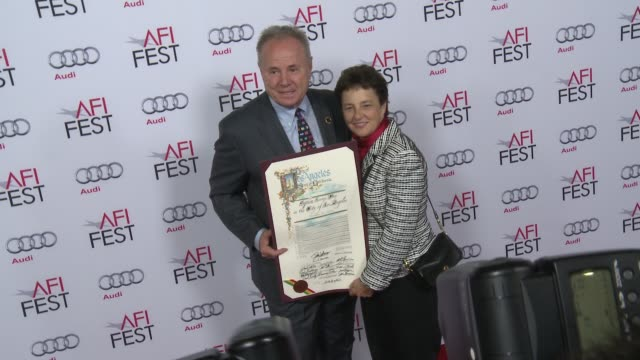 vídeos y material grabado en eventos de stock de tom labonge at afi fest 2014 presented by audi a special tribute to sophia loren at dolby theatre on november 12 2014 in hollywood california - teatro dolby