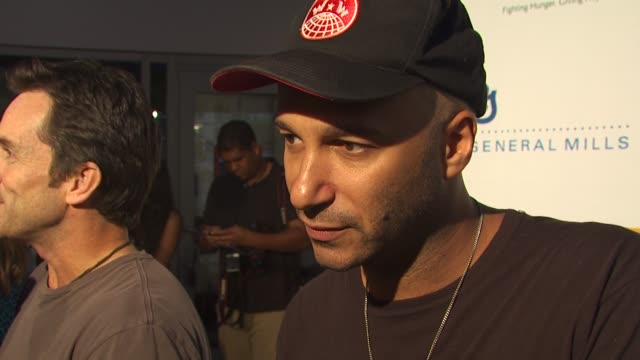 Tom Morello at the 'Rock A Little Feed A Lot' Benefit Concert at Los Angeles CA