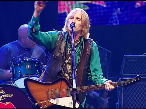 tom petty and the heartbreakers performance at the tom petty and the heartbreakers go home to a sold out concert at university of florida stephen... - sold out stock videos & royalty-free footage
