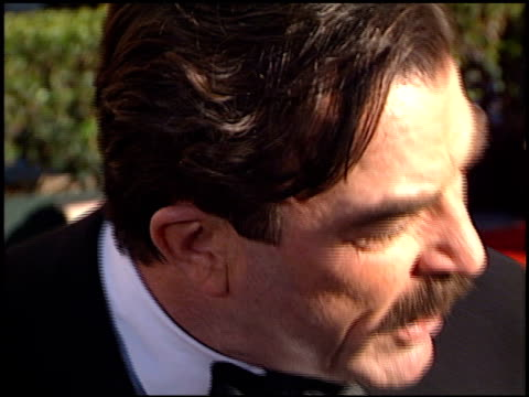 tom selleck at the 2002 screen actors guild sag awards at the shrine auditorium in los angeles, california on march 10, 2002. - shrine auditorium stock videos & royalty-free footage