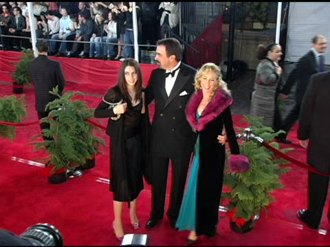 tom selleck daugher hannah and wife jillie mack at the 2005 people's choice awards arrivals at the pasadena civic auditorium in pasadena california... - pasadena civic auditorium stock videos & royalty-free footage
