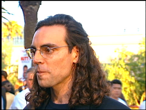 tom shadyac at the premiere of 'the nutty professor' at universal amphitheatre in universal city california on june 28 1996 - 1996 stock videos and b-roll footage