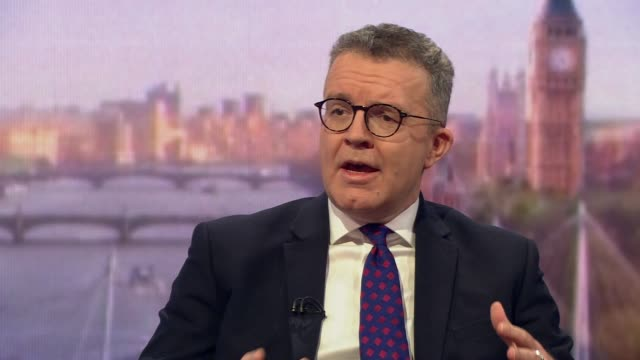 tom watson saying the labour party are prepared to talk to the government about a brexit withdrawal agreement if theresa may is willing to have a... - leadership stock videos & royalty-free footage