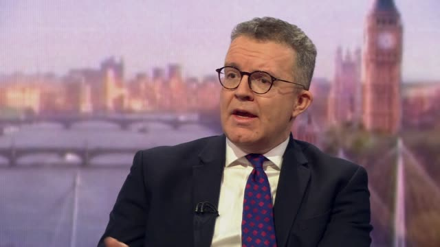 tom watson saying the labour party would support a brexit withdrawal agreement that is underpinned by a people's vote - leadership stock videos & royalty-free footage