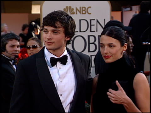 Tom Welling at the 2002 Golden Globe Awards at the Beverly Hilton in Beverly Hills California on January 20 2002