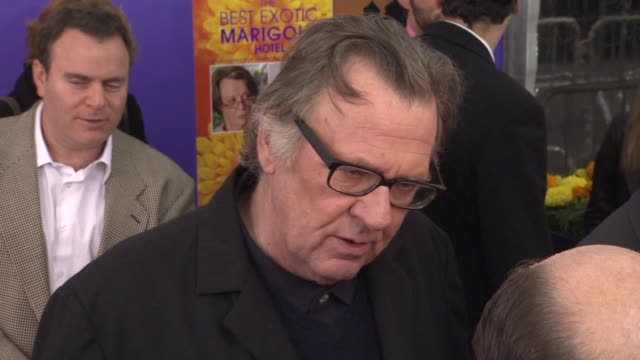 Tom Wilkinson at The Best Exotic Marigold Hotel New York Premiere Presented By Fox Searchlight Pictures And Participant Media at Ziegfeld Theatre on...